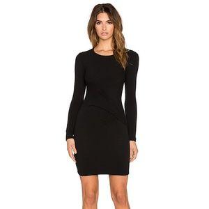 IRO Aenor Long Sleeve Dress Black Size 38